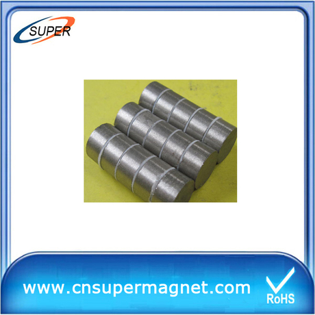 High Quality D25*10mm SmCo Permanent Magnet