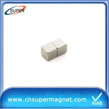 Industrial 12*12*12mm Sintered NdFeB Block Magnet