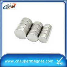 High Grade 10*5mm Cheap Neodymium Magnets Disc