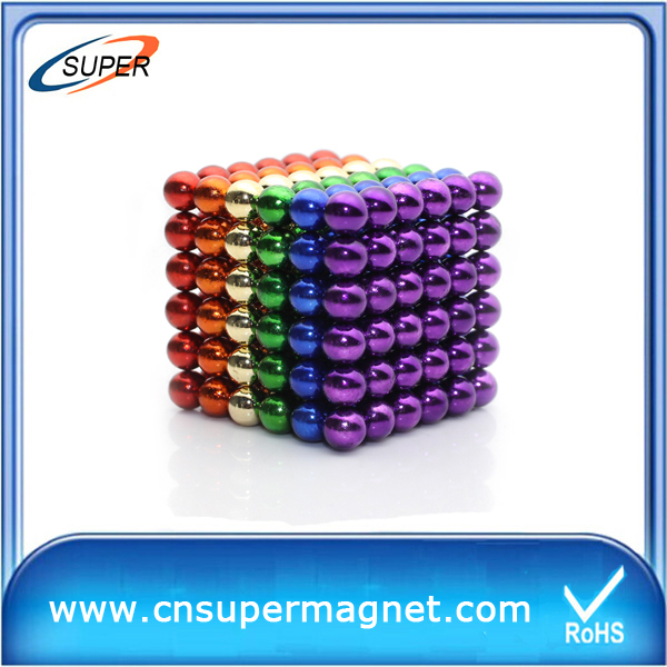 Factory Wholesale permanent Neodymium magnetic buckyball N52