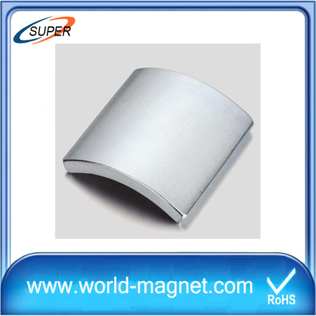 High Quality N50 Arc Neodymium Magnets