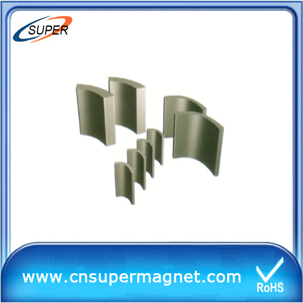 Y30BH arc ferrite magnet supplier