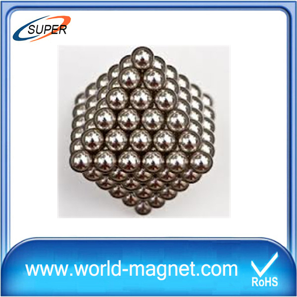 Flexible 4mm Neodymium Sphere Magnets Balls