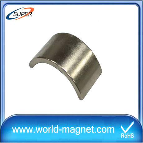 High Quality Arc Shaped Rare Earth Magnets