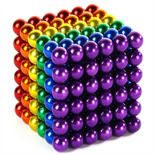 Six color 5MM 216Pcs sphere magnetic balls fidget toy balls for kids and adults