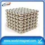 Neodymium Strong Ball Magnets 5mm Neo cube magnetic balls with iron box