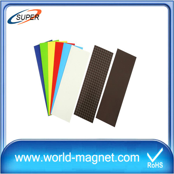 magnetic sheets are rubber