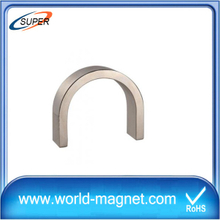 High Power Arc Shaped Neodymium Motor Ndfeb Magnet